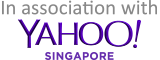 In association with YAHOO! SINGAPCRE